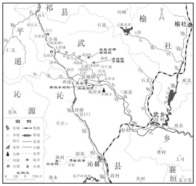 侯村到西苏堡地图