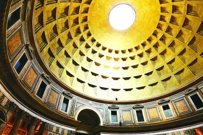罗马万神庙圆形穹顶