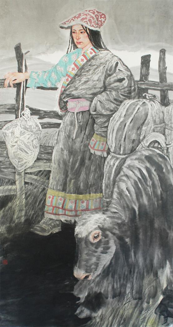 """""""新中国美术家系列——青海省国画作品展""""在京举行"""