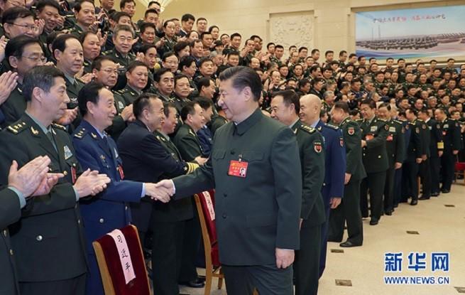 习近平出席军队领导干部会议并发表重要讲话