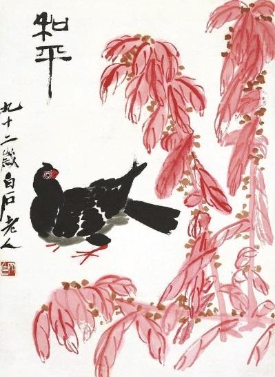 在这一系列画中,人们能看到洞庭落日,灞桥风雪,十里桃花,雁塔坡