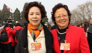 全国政协委员李掖平与范小青
