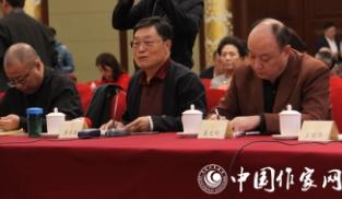政协委员熊召政在文艺界别联组会议上发言