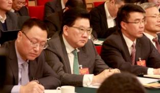 曹可凡代表参加审议政府工作报告分组会