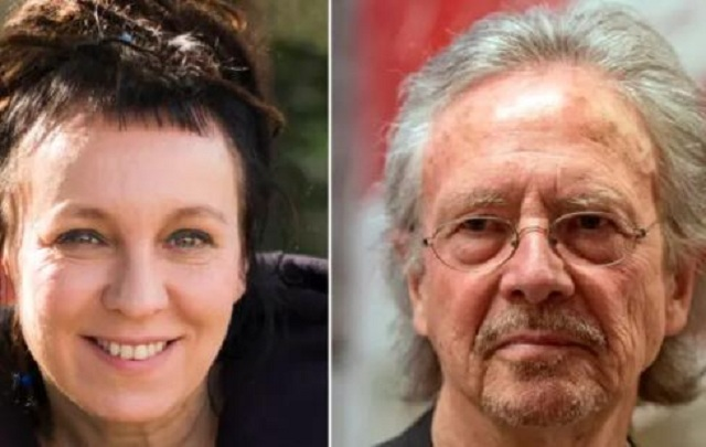 奥尔加·托卡尔丘克和彼得·汉德克获诺贝尔文学奖