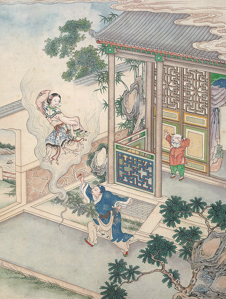 聊斋志异之女狐_《聊斋志异》与西方奇幻文学--文史--中国作家网